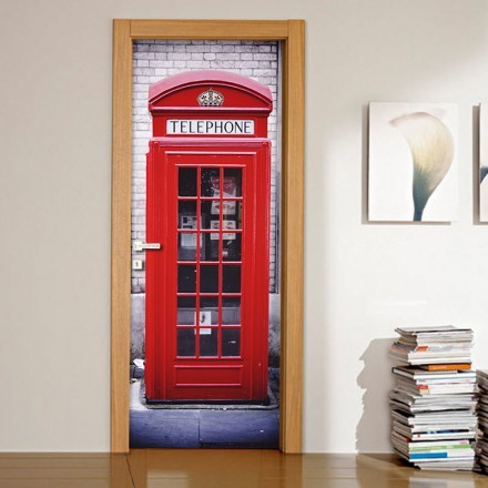 Red phonebooth