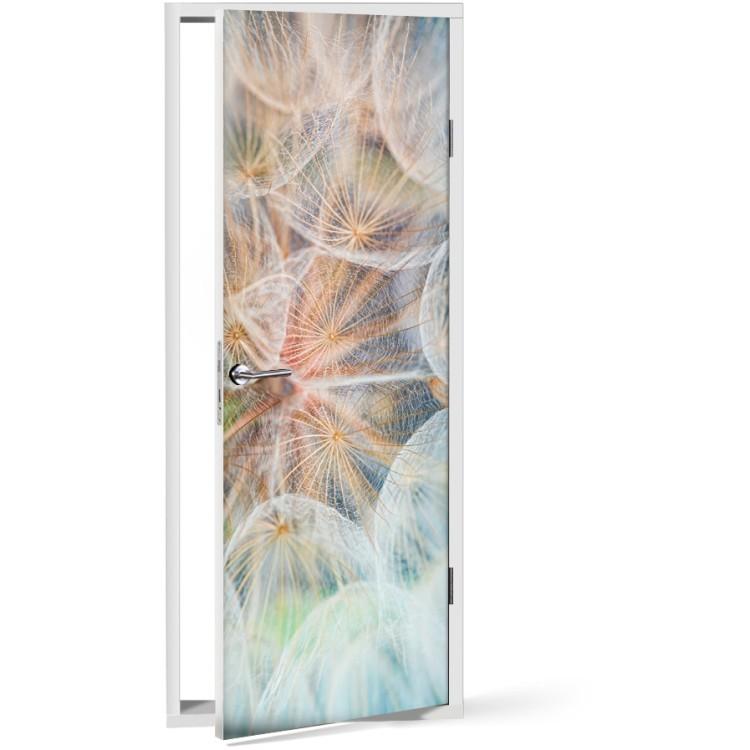 Αυτοκόλλητο Πόρτας Κλεφτής λουλούδι