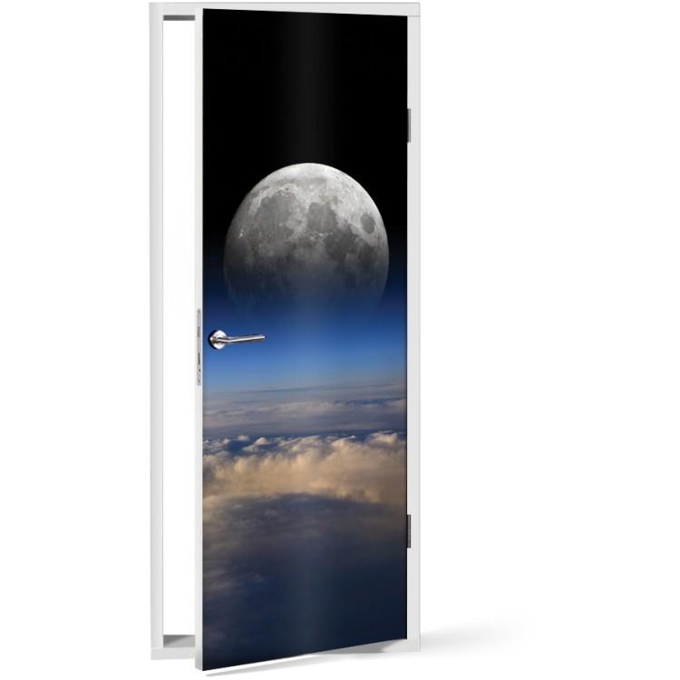 Αυτοκόλλητο Πόρτας Φεγγάρι