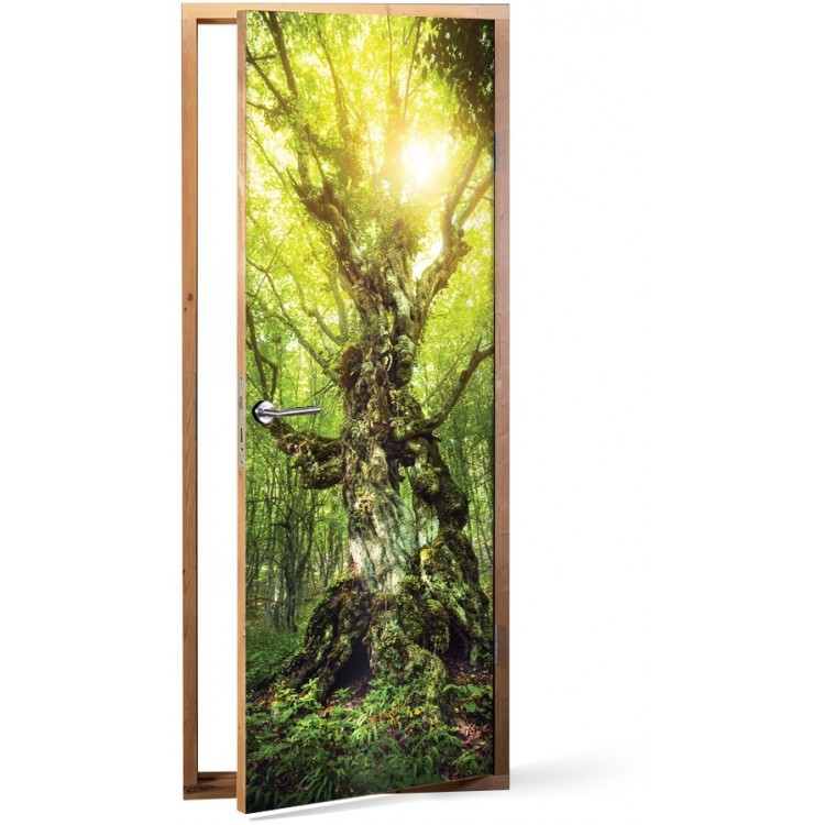 Αυτοκόλλητο Πόρτας Μαγικό δέντρο