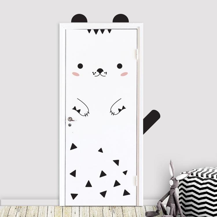 Αυτοκόλλητο Πόρτας LIttle Cat