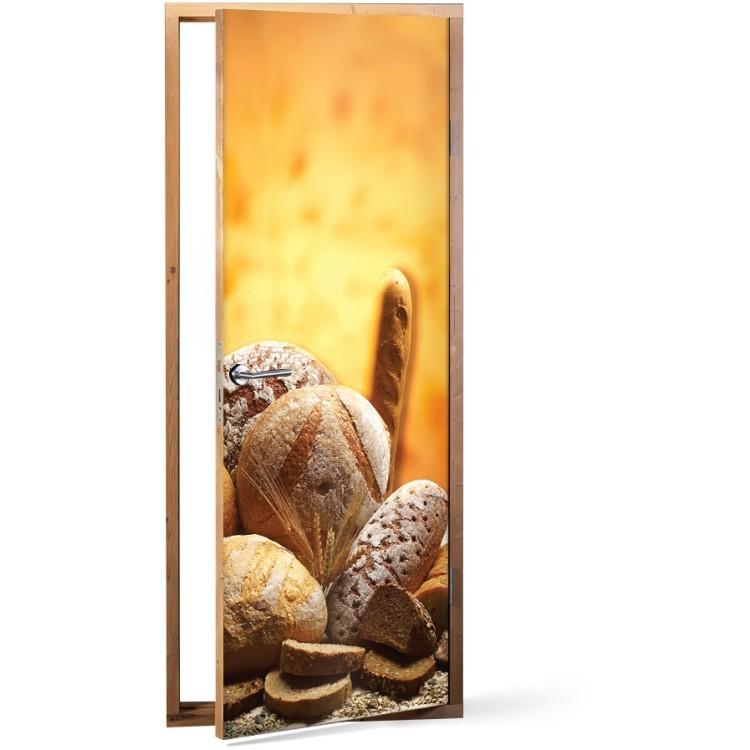 Αυτοκόλλητο Πόρτας Τύποι Ψωμιού