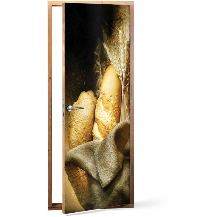 Αυτοκόλλητο Πόρτας Ψωμί