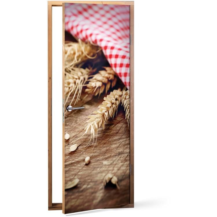 Αυτοκόλλητο Πόρτας Σιτάρι