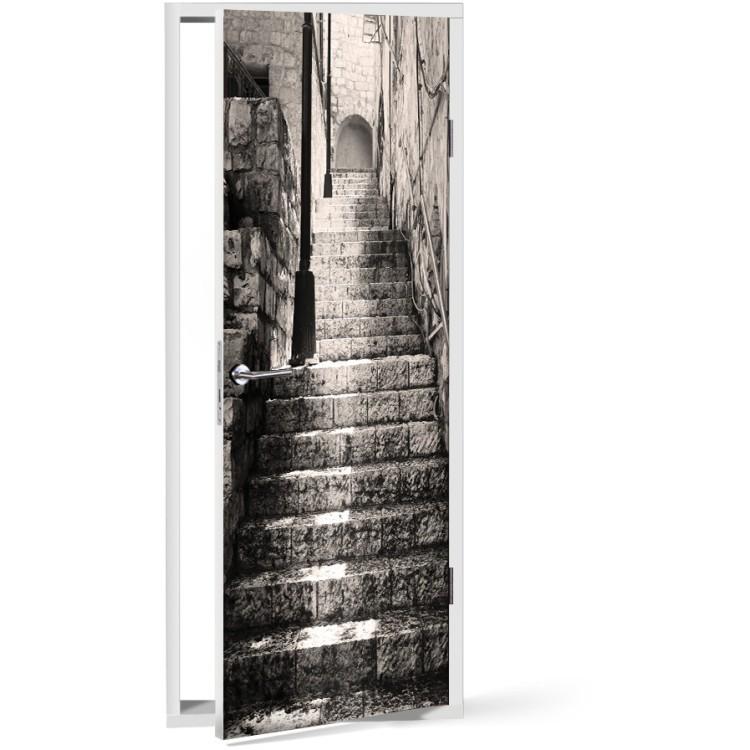 Αυτοκόλλητο Πόρτας Σκάλα