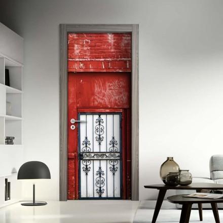 Πόρτα κόκκινο φόντο