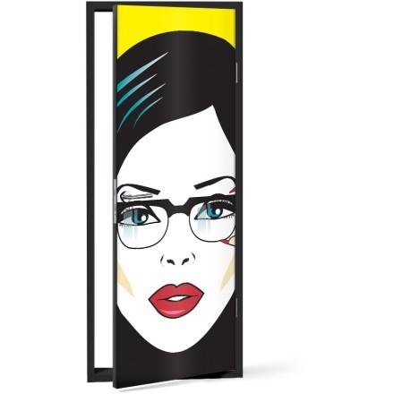 Πορτρέτο γυναίκας κόμικς