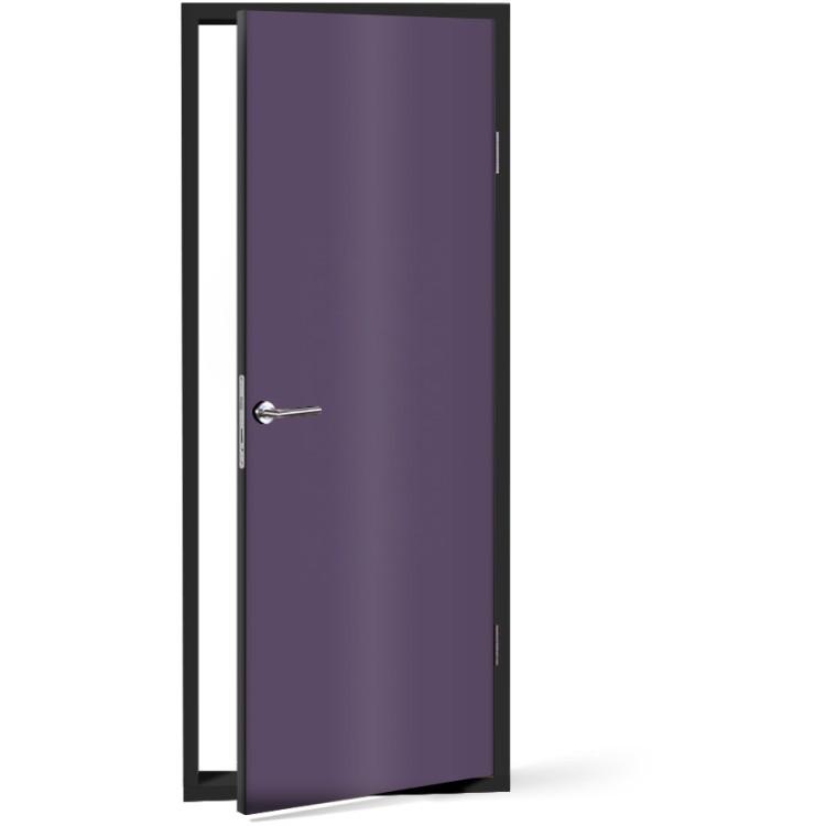 Αυτοκόλλητο Πόρτας Bishop-Purple