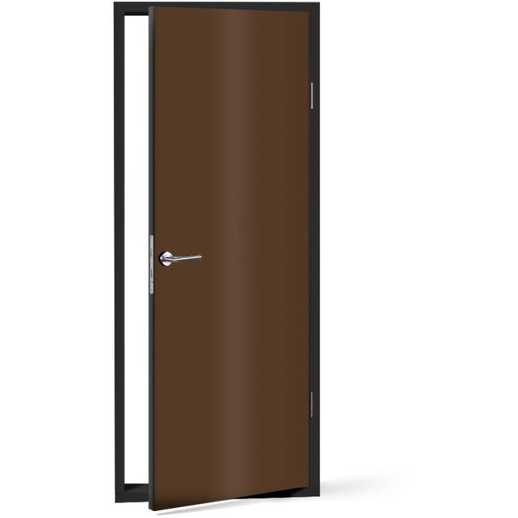 Αυτοκόλλητο Πόρτας Chocolate-Brown