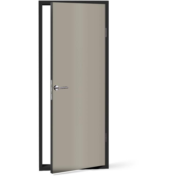 Αυτοκόλλητο Πόρτας Medium grey