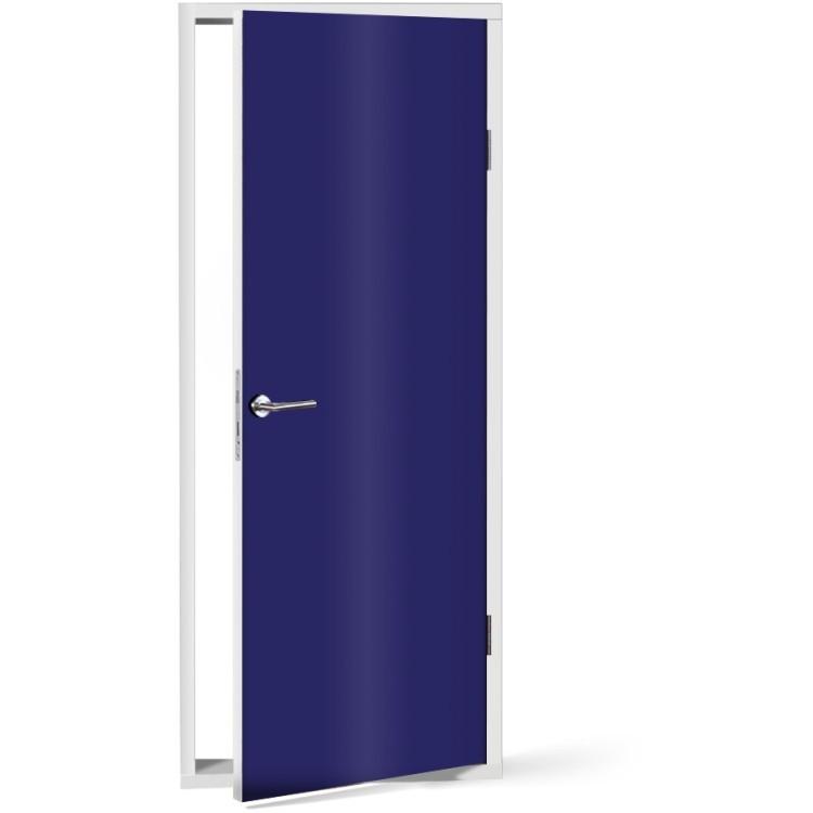 Αυτοκόλλητο Πόρτας Electric-Blue