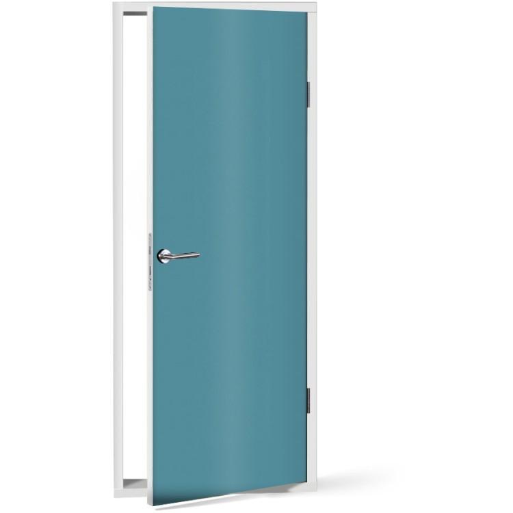 Αυτοκόλλητο Πόρτας Light-Blue
