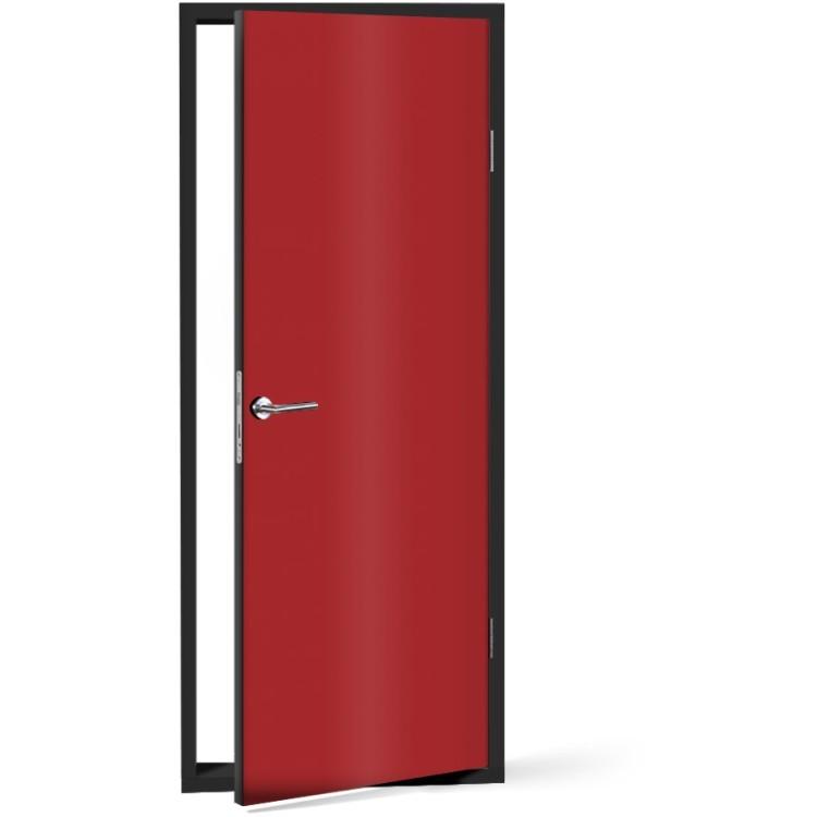 Αυτοκόλλητο Πόρτας Medium-Red