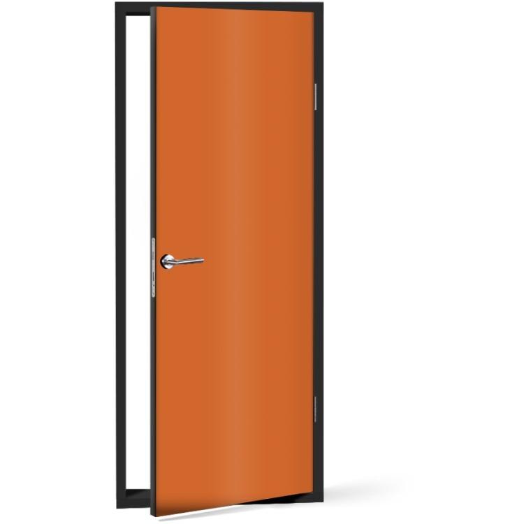 Αυτοκόλλητο Πόρτας Orange