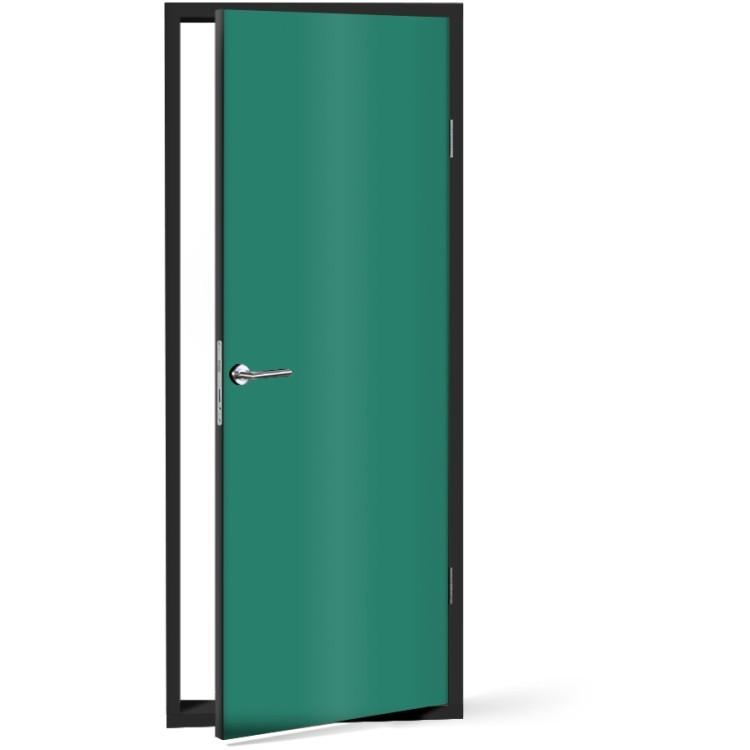 Αυτοκόλλητο Πόρτας Turquoise-green