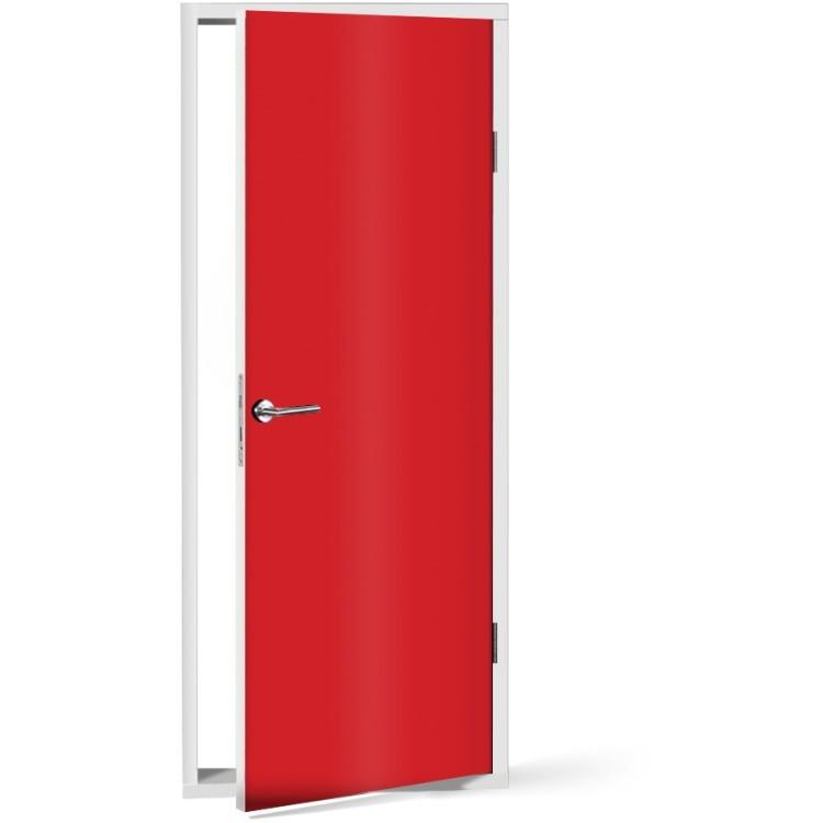 Αυτοκόλλητο Πόρτας Red