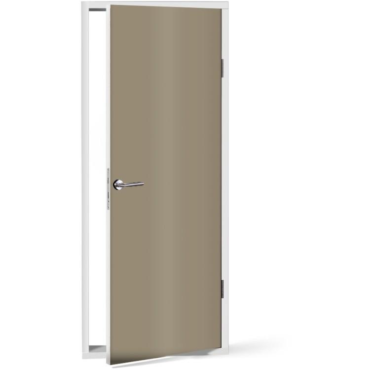 Αυτοκόλλητο Πόρτας Silk-Grey
