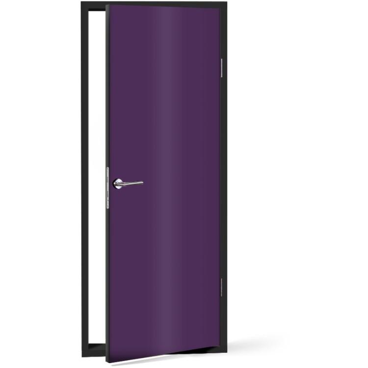 Αυτοκόλλητο Πόρτας Violet