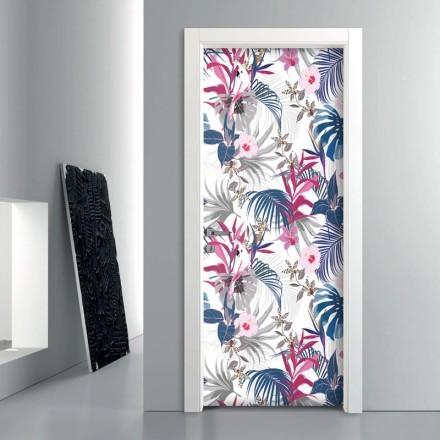 Εξωτικό μοτίβο με λουλούδια