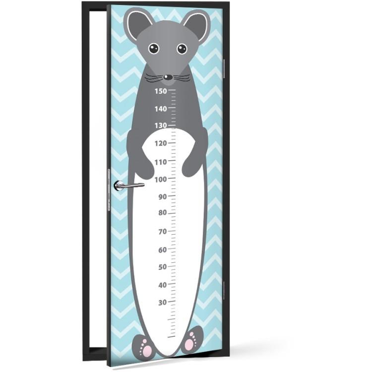 Αυτοκόλλητο Πόρτας Ποντικάκι Υψόμετρο