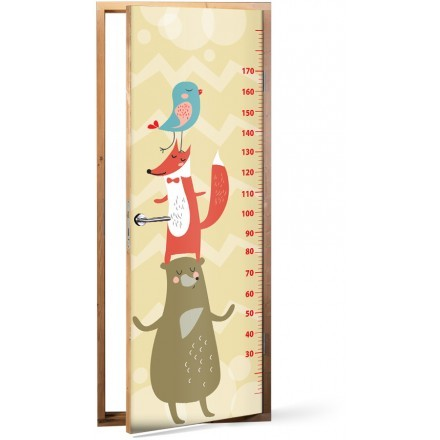 Little animals Height Meter