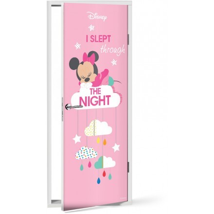 I slept through the night, Minnie
