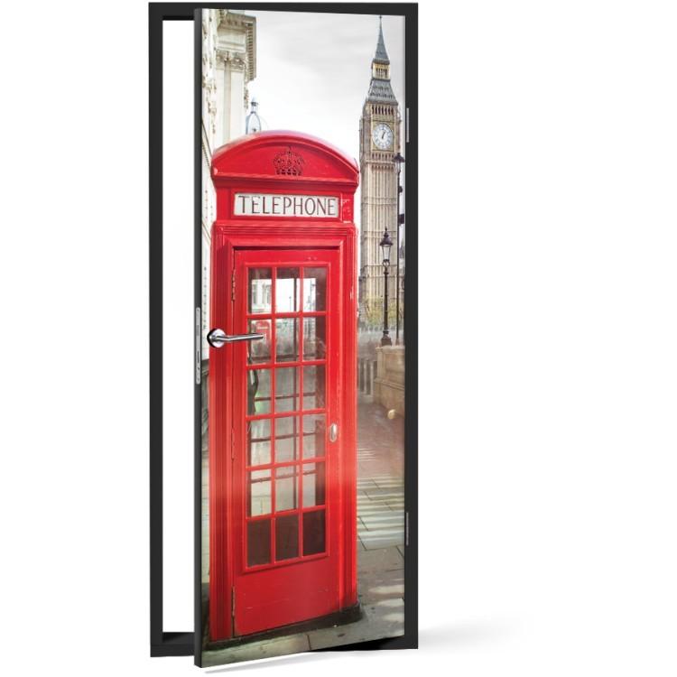 Αυτοκόλλητο Πόρτας Μπιγκ Μπεν, Λονδίνο