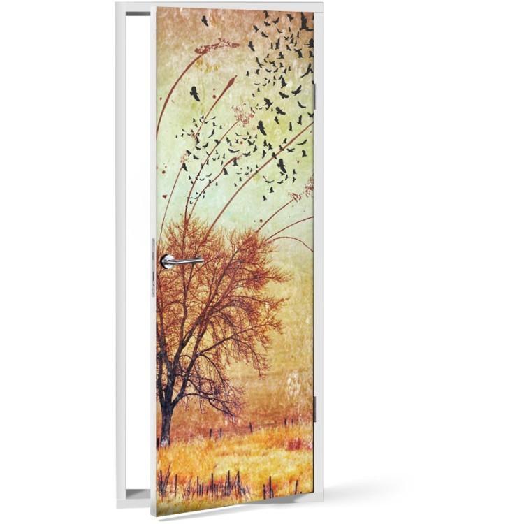 Αυτοκόλλητο Πόρτας Δέντρο