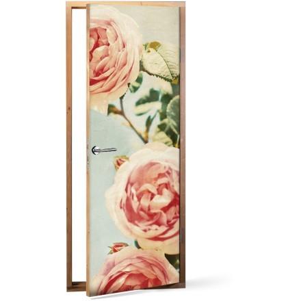 Vintage τριαντάφυλλα κλειστά