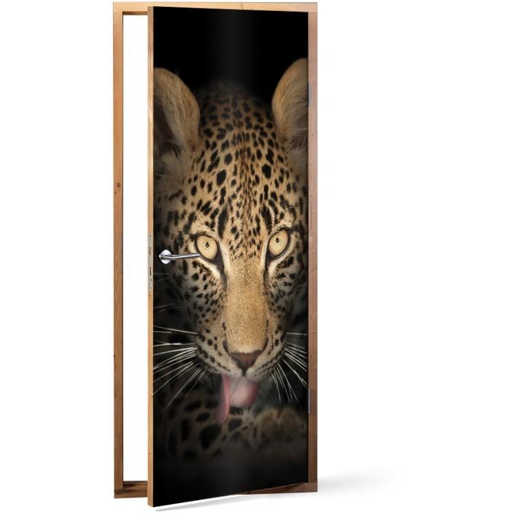 Αυτοκόλλητο Πόρτας Τίγρης