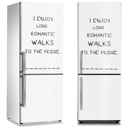 Walks to the fridge
