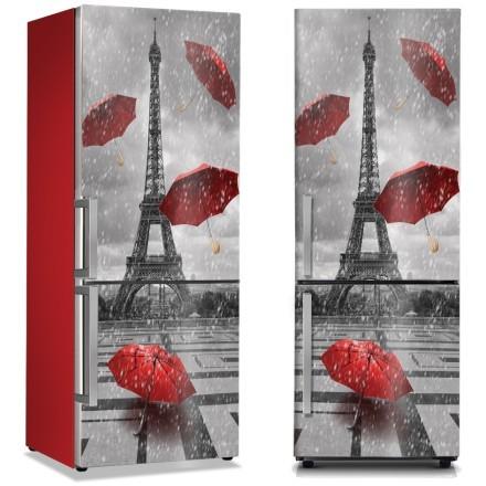 Ομπρέλες στο βροχερό Παρίσι