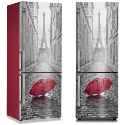 Κόκκινη ομπρέλα στο Παρίσι