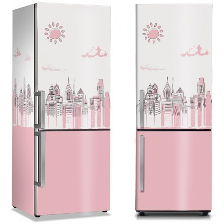 Ζωγραφισμένη ροζ Νέα Υόρκη
