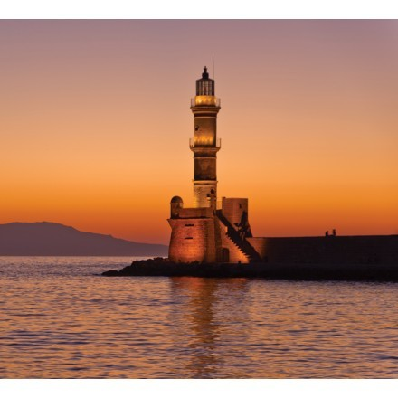Φάρος στο Λιμάνι Χανίων , Κρήτη