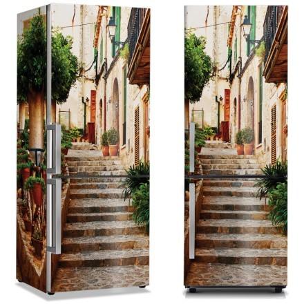 Πέτρινα σκαλοπάτια στην Ιταλία