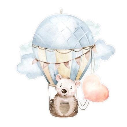 Αρκούδα μέσα σε αερόστατο