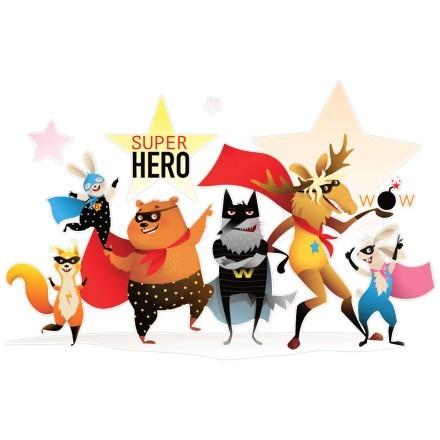 Super hero animals