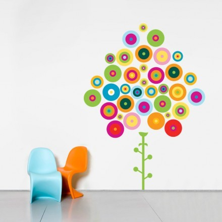 Πολύχρωμο δέντρο