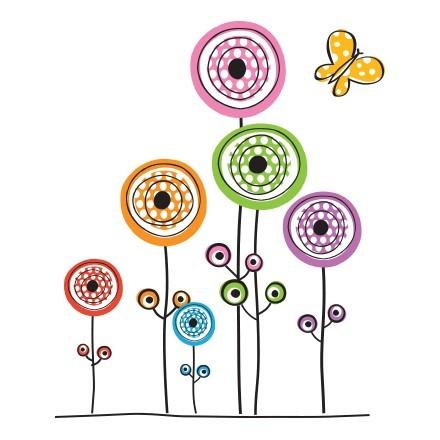 Λουλούδια γεωμετρικά