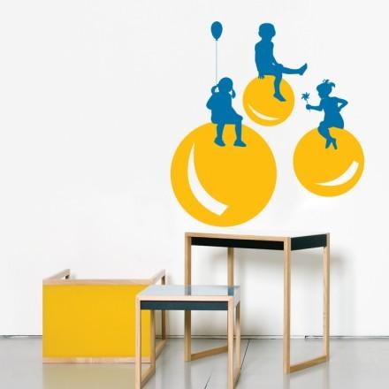 Μπαλόνια με παιδάκια
