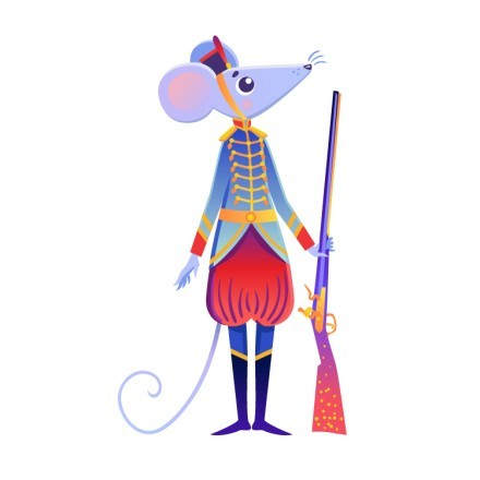 Mouse king soldier