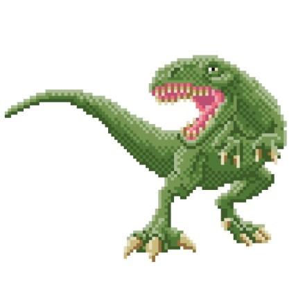 Πράσινος άγριος δεινόσαυρος