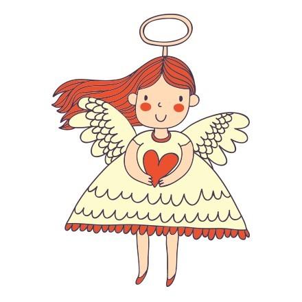 Αγγελάκι με καρδιά