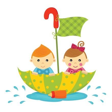Παιδιά στη βροχή
