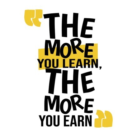 The more you learn