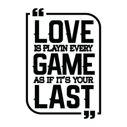 Love game last