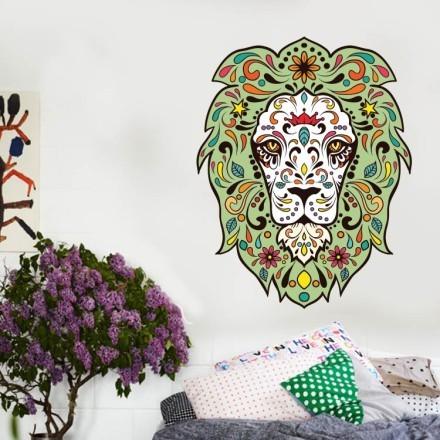 Λιοντάρι με λουλούδια