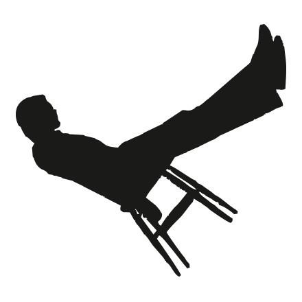 Άνθρωπος σε καρέκλα