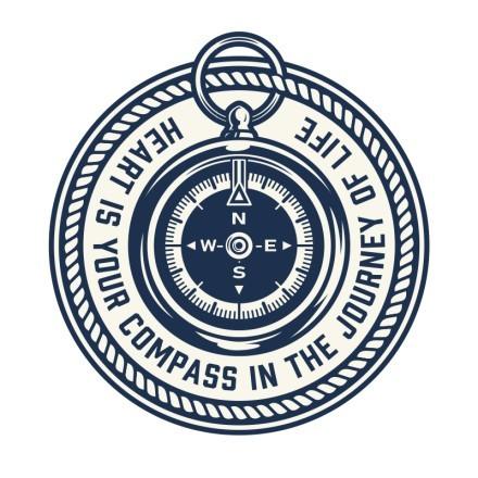 Πυξίδα σε ναυτικό κόμπο